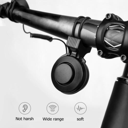 Electric Cycling Adjustable Bell Waterproof MTB Bike Bicycle Handlebar Horn Ring
