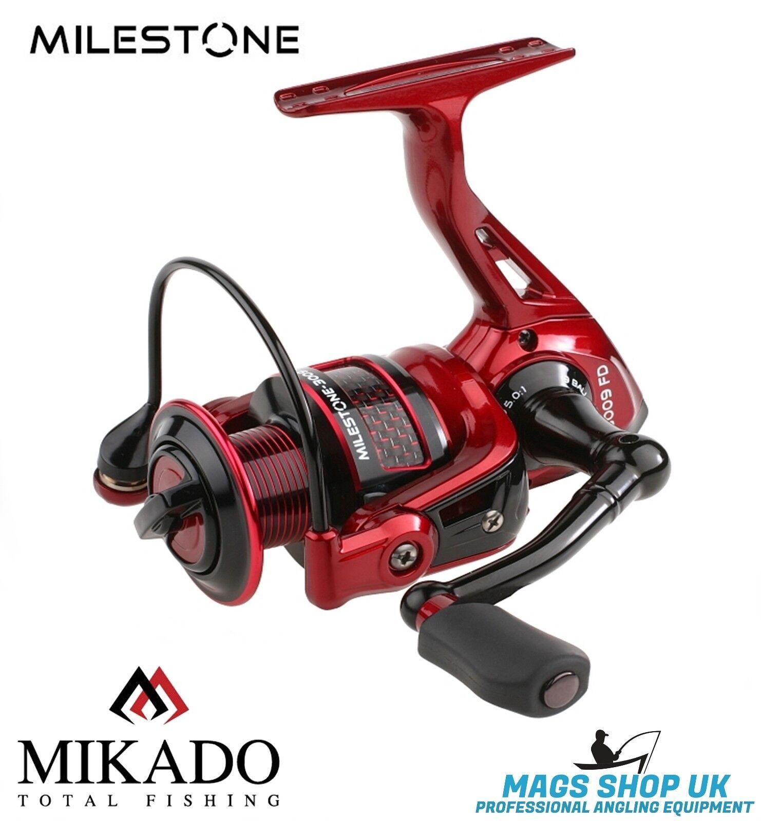 MIKADO ''MILESTONE'' FISHING REEL,KDA077,5.0:1, 8+1,SPINNING, 12 MONTHS WARRANTY