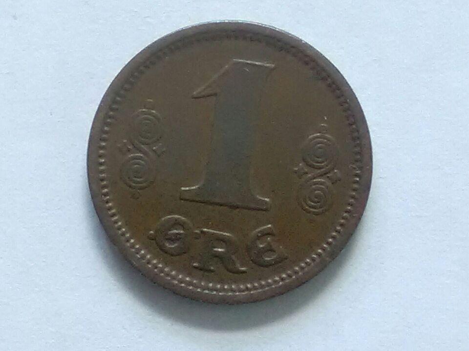 Danmark, mønter, 1 øre