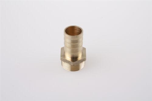 3//4BSP Rosca Macho a 19mm Adaptador de Montaje Manguera Recto Acoplador 5 piezas