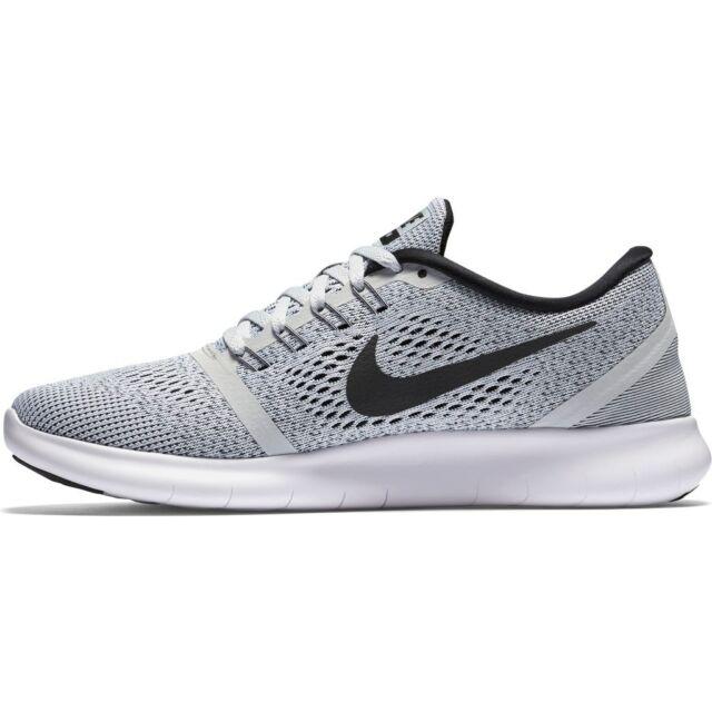 cheap for discount c4131 b421b NIKE Women's Free RN Running Shoes White/Pure Platinum/Black # 831509-101