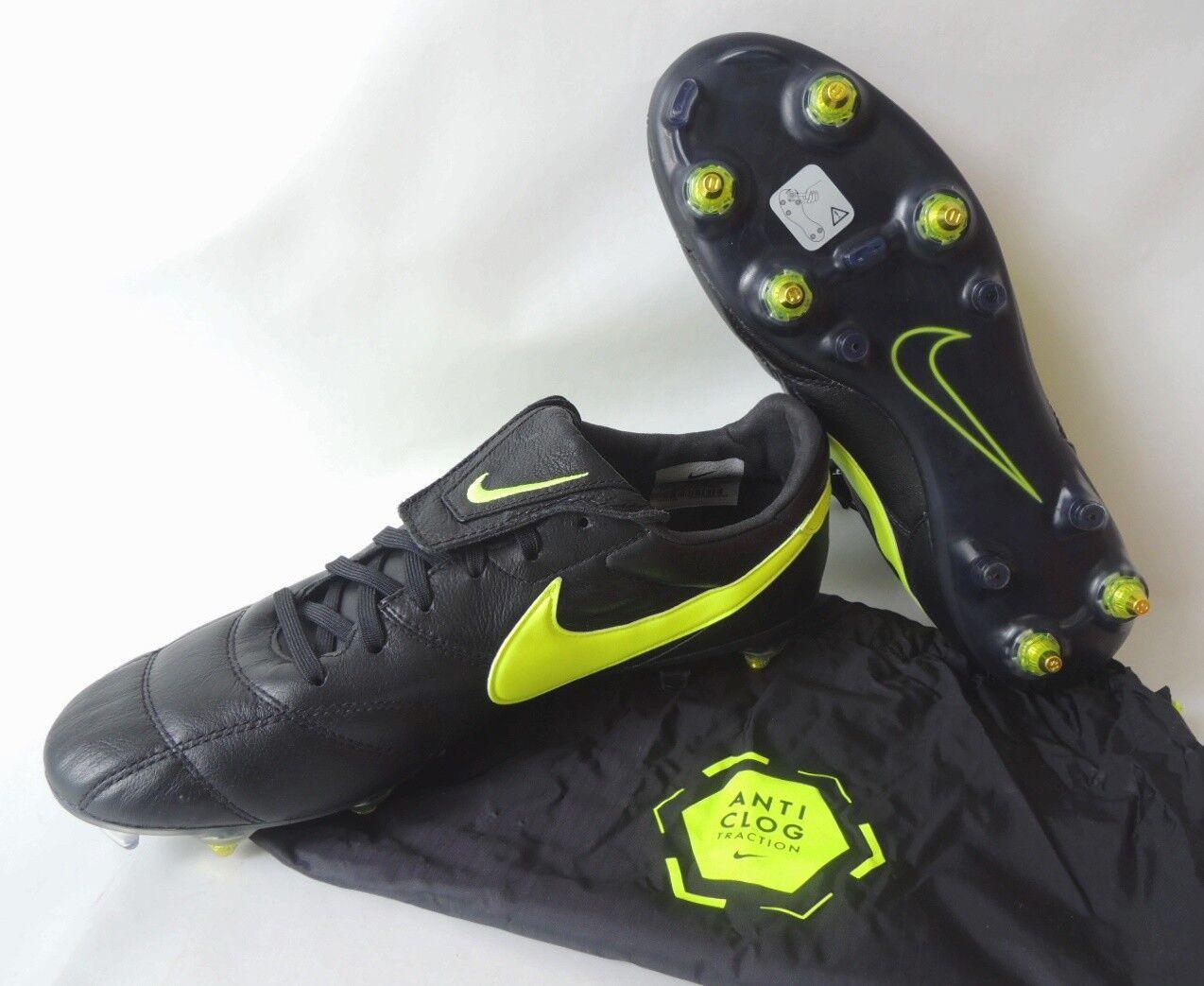 NEU Premier II Größe SG Pro AC Anti Clog Größe II 43 Leder Fußballschuhe 921397-001 d10ad1
