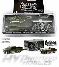Greenlight Gas Monkey Garage 1968 Shelby Gt500kr 2015 Ford F-150 Green Machine