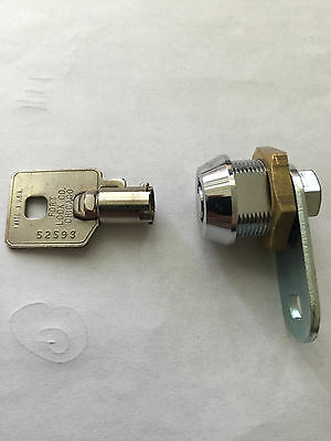 SLOT MACHINE LOCK - 5/8  WITH CAM - ONE KEY