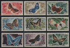 Libanon 1965 - Mi-Nr. Lot ex 900-909 ** - MNH - Schmetterlinge / Butterflies (3)