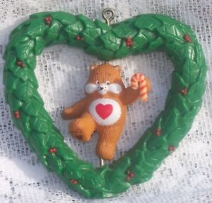 Vtg care bears 1984 american greetings christmas ornament twirl image is loading vtg care bears 1984 american greetings christmas ornament m4hsunfo Image collections
