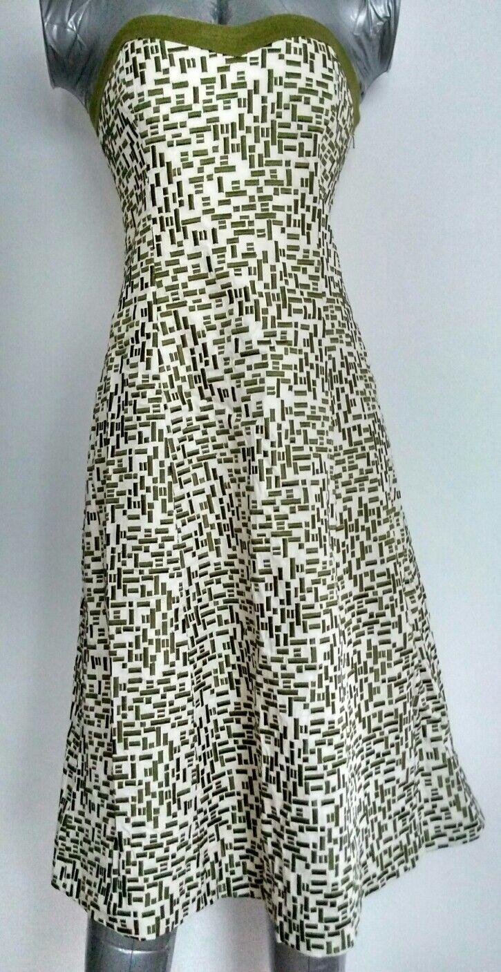 COAST bandeau formal dress stitch work size 8 --MINT-- Gala Races Party Wedding