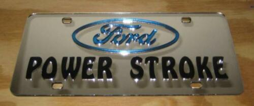 Power Stroke laser cut inlayed  tag