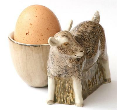 Billy Goat Egg Cup British Toggenburg by Quail Pottery Ideal Farming Gift