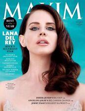 Maxim Magazine December 2014 January 2015 Lana Del Rey Derek Jeter Kate Boch