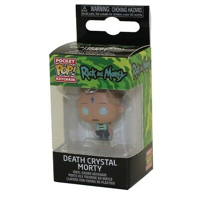 MEESEEKS Keychain Rick and Morty 1.5 inch - New in Box MR Funko Pocket POP