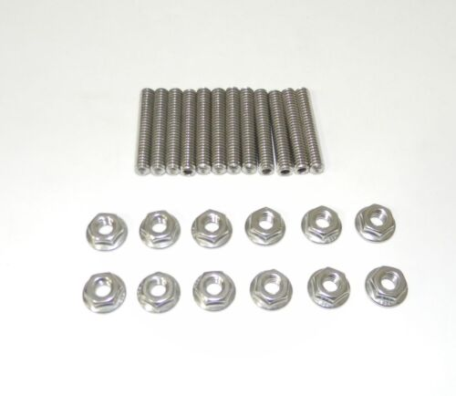 Small Block Ford SBF Stainless Steel Studs for Cast Valve Covers NEW
