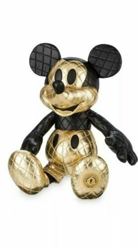 Disney Store Gold Glam Mickey Mouse Memories AUGUST Limited Release Plush NWT
