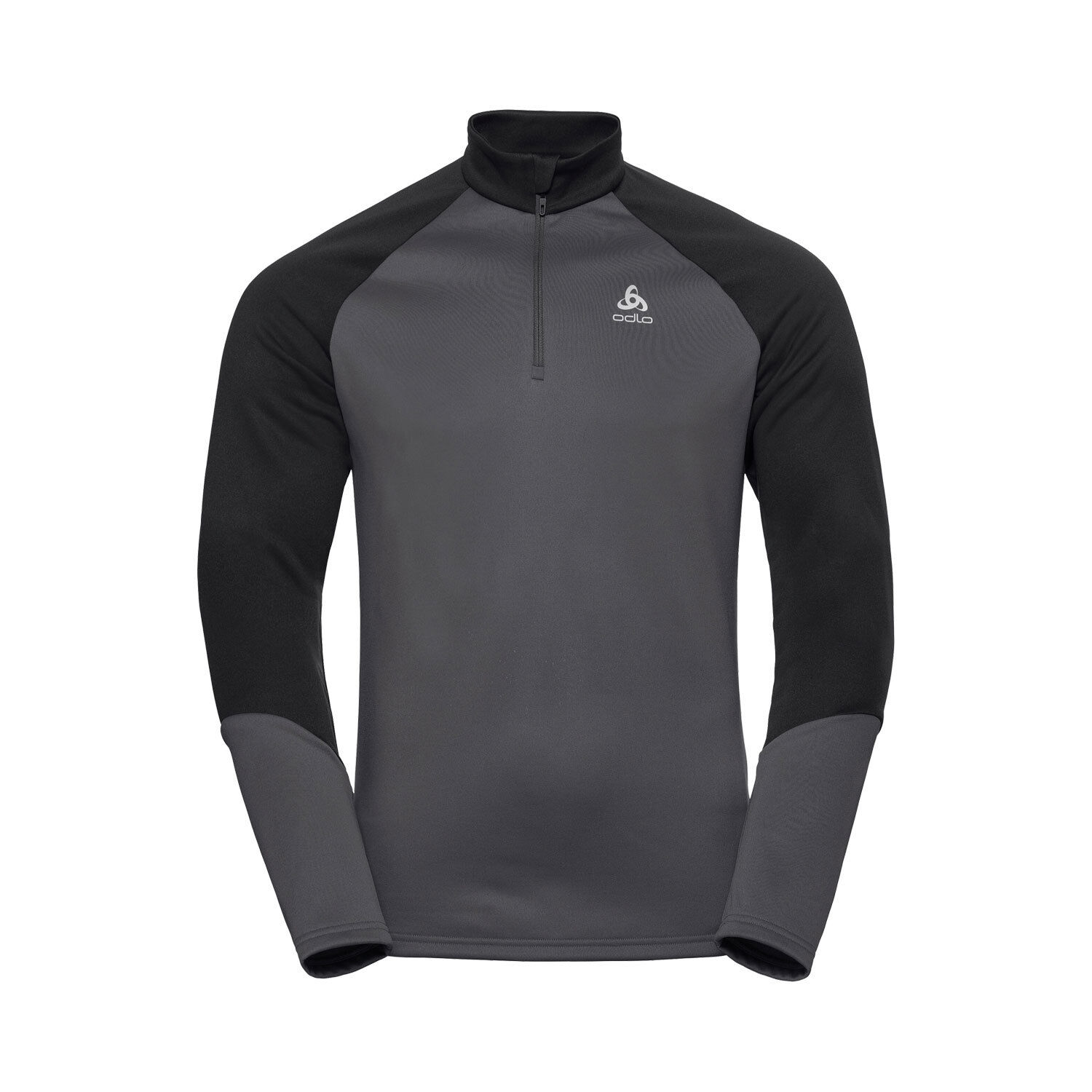 Odlo Shirt Planches 1/2 Zip Herren Midlayer Shirt Odlo 1513d1