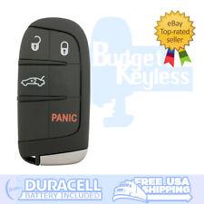 FCC ID: M3M-40821302 // P//N: 68155687 OEM Chrysler 200 Keyless Entry Remote Fob 5-Button Smart Proximity Key