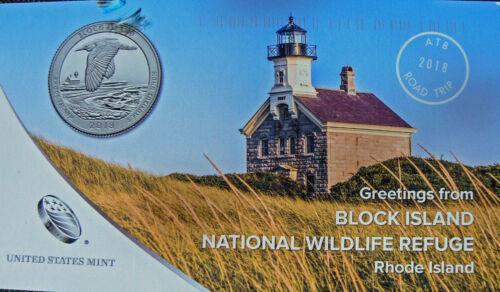 2018 20 P D QUARTERS ROLL RHODE ISLAND BLOCK ISLAND N WILDLIFE REFUGE EXTRAS