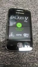 Samsung Galaxy y Young Phone S5360 Micro SD 4GB GSM Smartphone - Metallic Gray