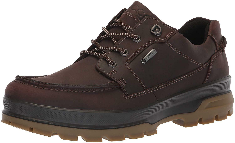 0d037ad573 ECCO Men's Rugged Track Gore-tex Moc Tie Hiking Shoe