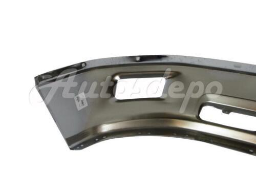 FOR 2009-2012 DODGE RAM 1500 PICKUP FRONT BUMPER FACE BAR CHROME W// FOG HOLE