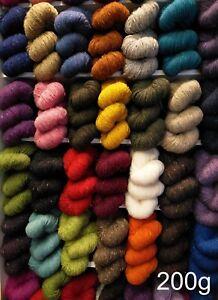 200g-Irish-Aran-Tweed-Knitting-Yarn-Kilcarra-Genuine-Donegal-100-Wool-320m