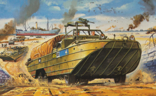 Airfix Classico Modello Kit Guerra Mondiale Serbatoi /& Militare Veicoli 1:76 Set