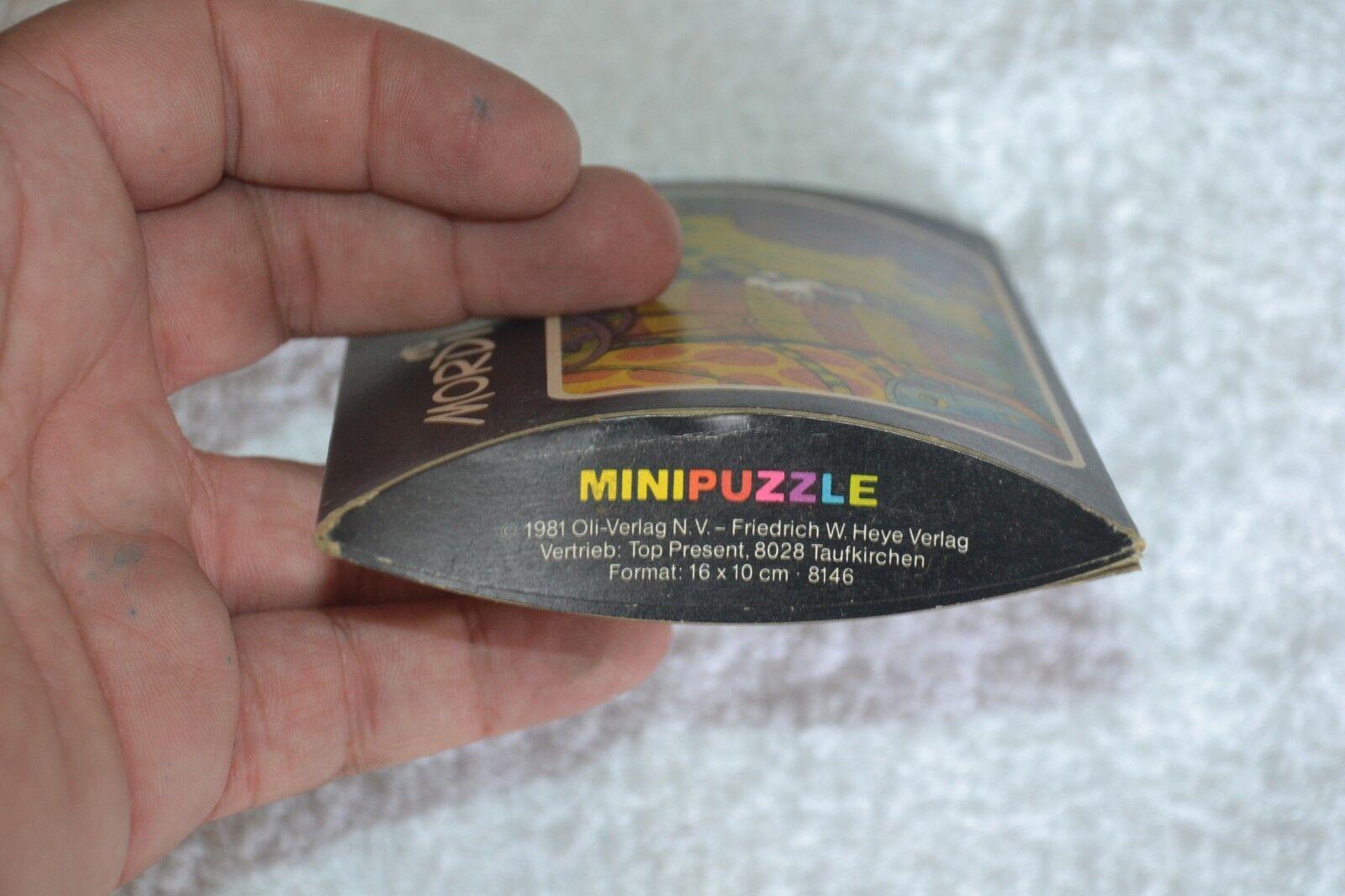 1981 Mordillo Heye Mini Mini Mini Puzzle 48 Pieces Format 16x10  8146 NEW e545a6