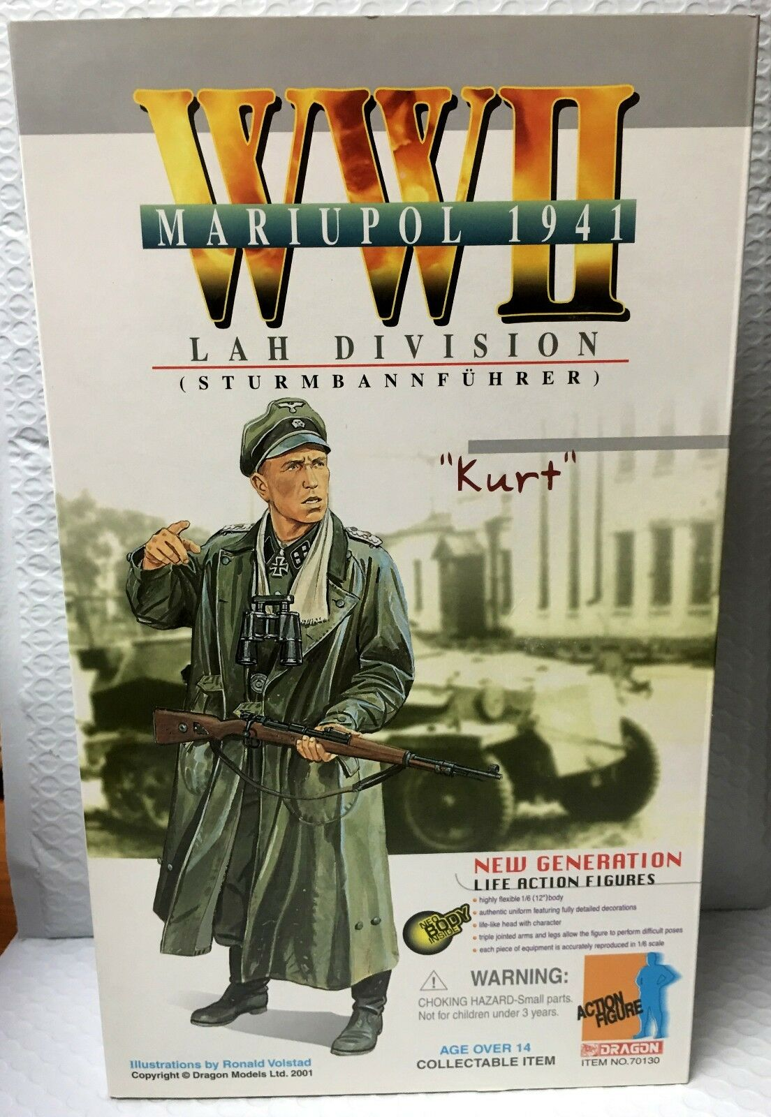 1941 Maripul - KURT - Action Figure - WW2 Lah Division - Dragon Toys - Brand New