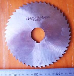 "ESC HSS Milling Slotting Slitting Cutter 6/"" x 1//32/"" x 1 1//4/"" 48T NEW"