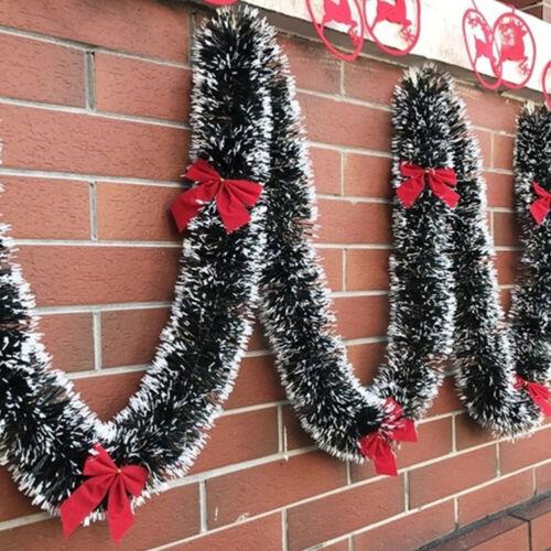 CHRISTMAS BAR TOP RIBBON GARLAND TREE ORNAMENTS BOW DECOR PARTY SUPPLIES OPULENT