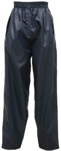 New Kids Boys Girls Regatta Stormbreak Waterproof Rain Over Trousers Age 2-16