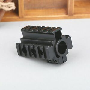 Rifle-Tri-Side-Top-Scope-Laser-Mount-for-20mm-Weaver-Rail-12-Gauge-Barrel-Gun
