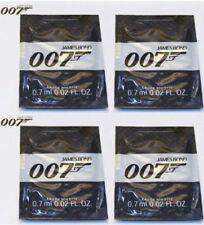 JAMES BOND 007 MENS 0.7ml x 8 EDT FRAGRANCE SAMPLES BRAND NEW POCKET SIZE TOP UP