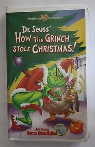 image is loading dr seuss how the grinch stole christmas vhs - How The Grinch Stole Christmas Vhs