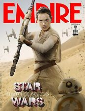 STAR WARS FORCE AWAKENS EMPIRE MAGAZINE MANIFESTO REY DAISY RIDLEY