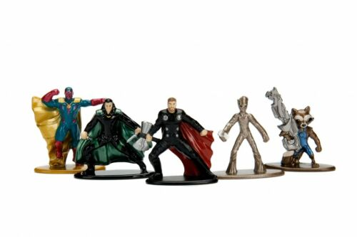 Avengers Infinity War JADA Nano Metalfigs Die-Cast Mini-Figures WAVE 2 5-Pack