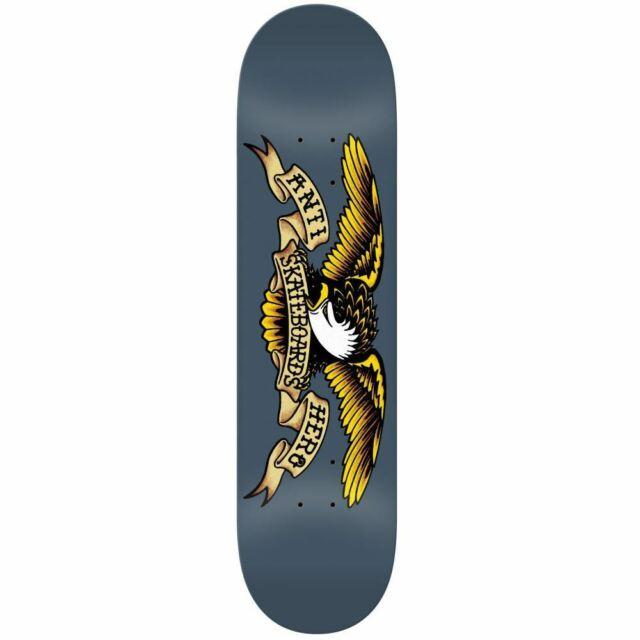 "Anti Hero Skateboards Classic Eagle Skateboard Deck Assorted 8.62"""