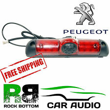 Peugeot Boxer Van MK2 2006 On LED Brake Light & Rear View Reversing Camera PSC30