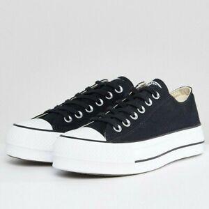 Converse Women's Chuck Taylor All Star Canvas Lift Platform Sneakers
