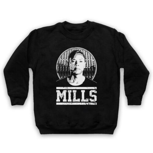Jeff Mills Techno DJ HOMMAGE NON OFFICIEL producteur légende Adultes /& Enfants Sweat