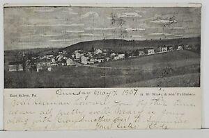 East-Salem-Pa-Bird-039-s-Eye-View-1907-to-Lewistown-udb-Postcard-N6