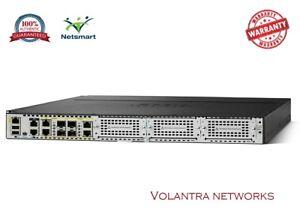 Details about NEW ISR4331-V/K9 Cisco ISR 4331 UC Bundle, PVDM4-32, UC  License, 1-YEAR WARRANTY
