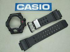 Casio G-Shock Rangeman GW-9400 watch band & bezel set black resin rubber