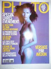 PHOTO FRENCH MAGAZINE #353 octobre 1998 cover Kate Moss - Elite Model look 98