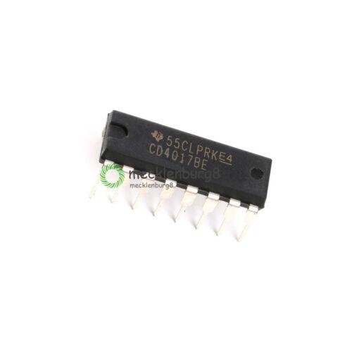 20Stks  CD4017BE CD4017 CD4017BE 4017 DECADE COUNTER DIVIDER IC