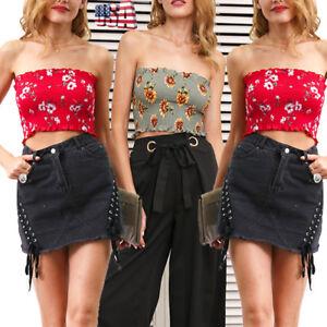 Women-Seamless-Strapless-Bra-Bandeau-Fashion-Tube-Top-Sexy-Bra-Shirt-US-STOCK