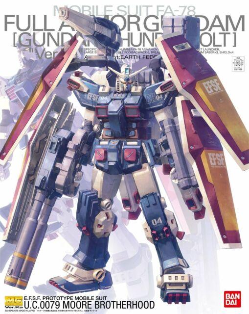 Bandai Hobby RX-0 Gundam Unicorn Unit 02 Banshee MG 1//100 Model Kit USA Seller