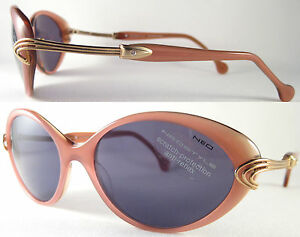 STYLISH-amp-RARE-NEOSTYLE-LADIES-SUNGLASSES-WITH-ACETAT-IN-RED-TINT-GREY-DESIGN