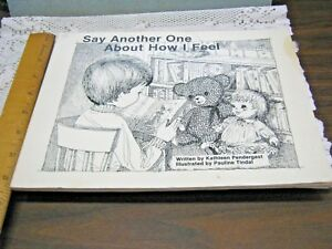 SIGNED-BY-AUTHOR-Say-Another-One-About-How-I-Feel-By-Kathleen-Pendergast-1981