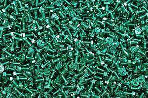 900-Combo-Drive-Hex-Washer-Head-10-32-x-3-8-Grounding-Screws-10-Green-Zinc