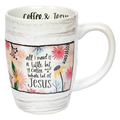 Gift Coffee Mug A Little Bit Of Whole Lot 16 Oz Ebay